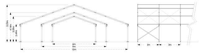 サイズラインナップ図面