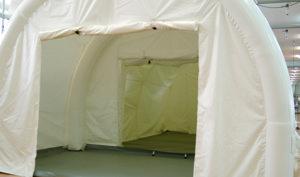 感染症対策医療用陰圧エアテント(前室)